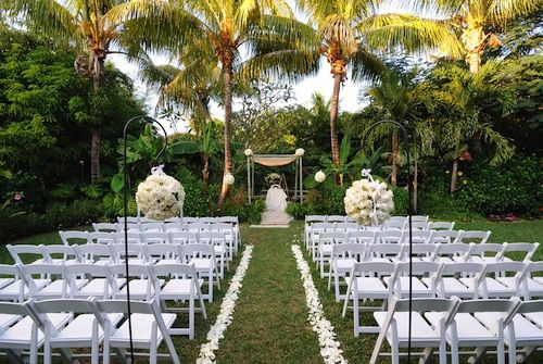 Tropical Garden Wedding Ceremony Keywords Weddings Jevelweddingplanning Follow Us