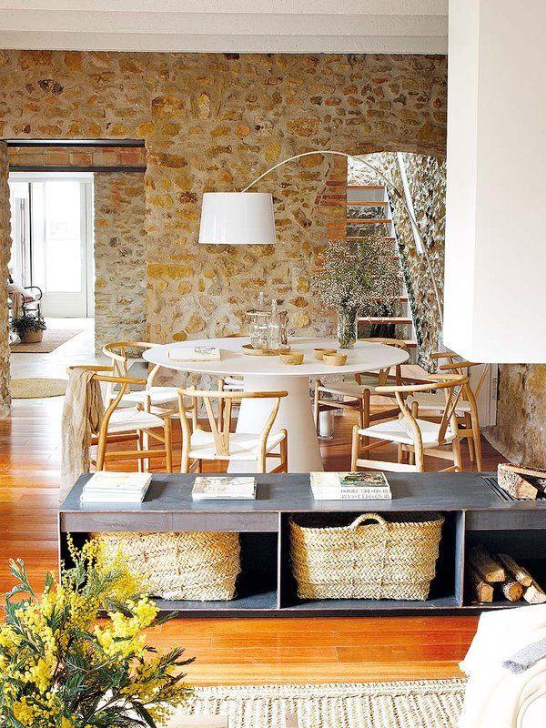 Esta casa luce el estilo rústico más actual | Estilo rústico ...