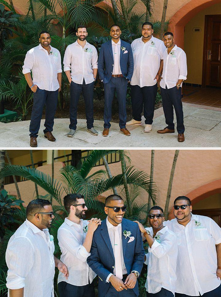 fun grom and groomsmen pics
