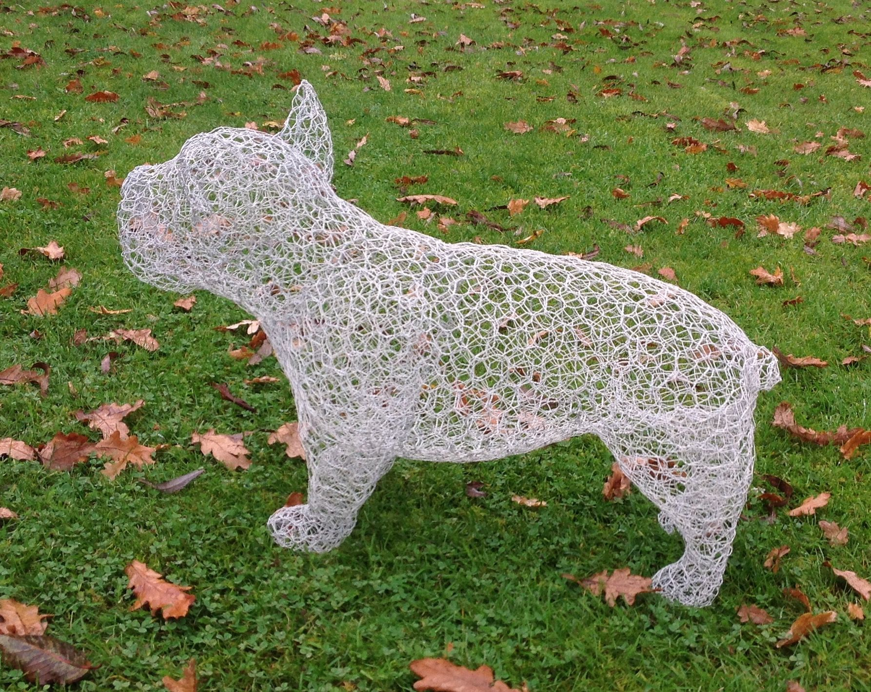 French Bulldog Needs A Coat Of Paint