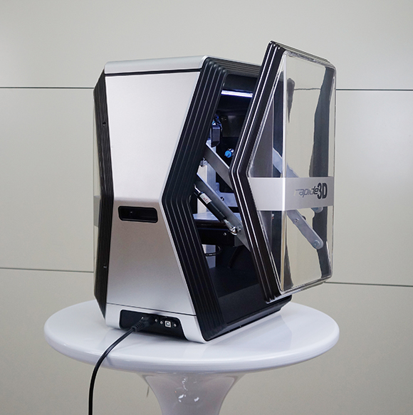 Dynamic and fresh looking Rapide One 3D printer, soon on
