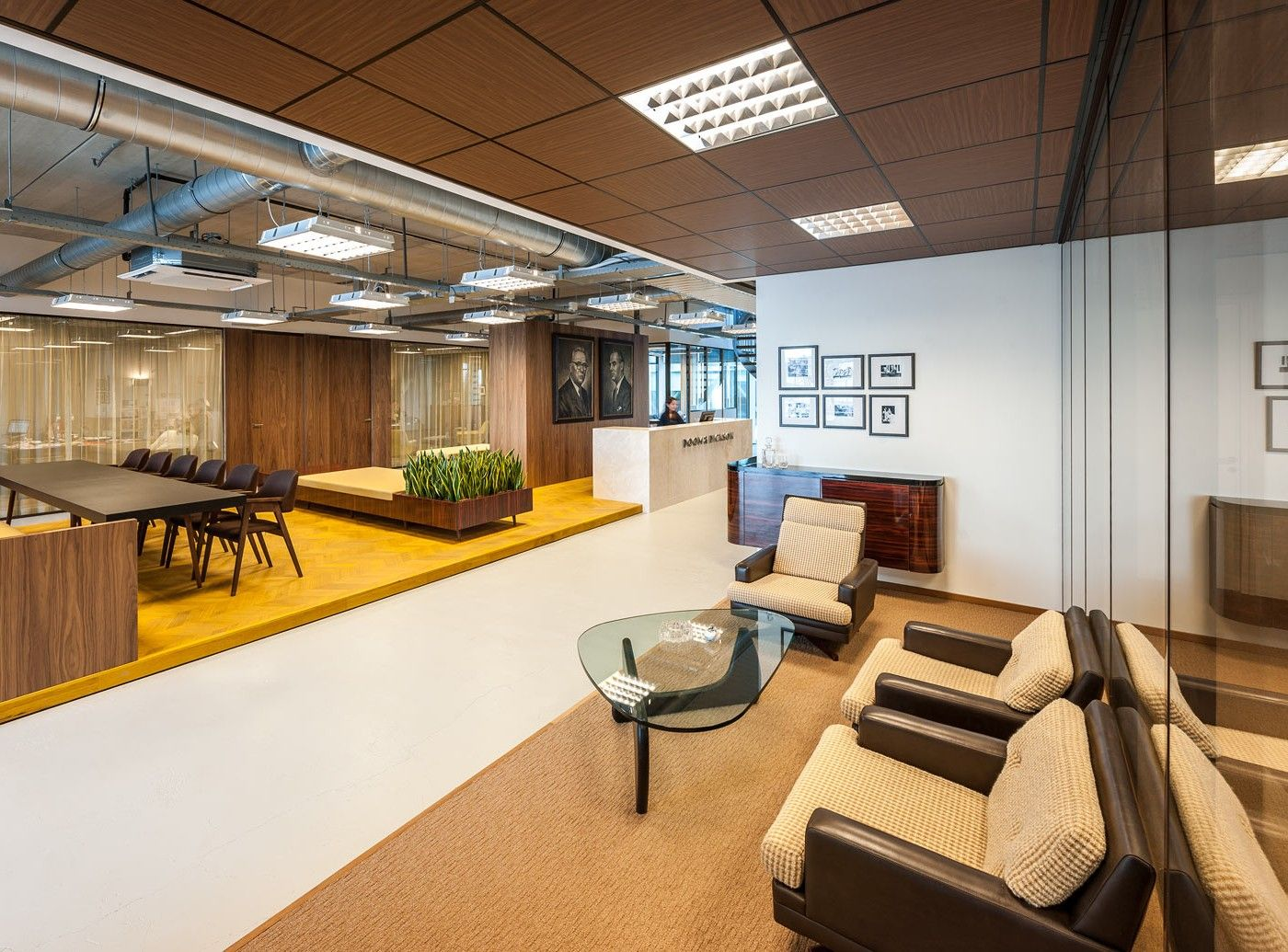 True Mad Men Office Interior Design Design Office
