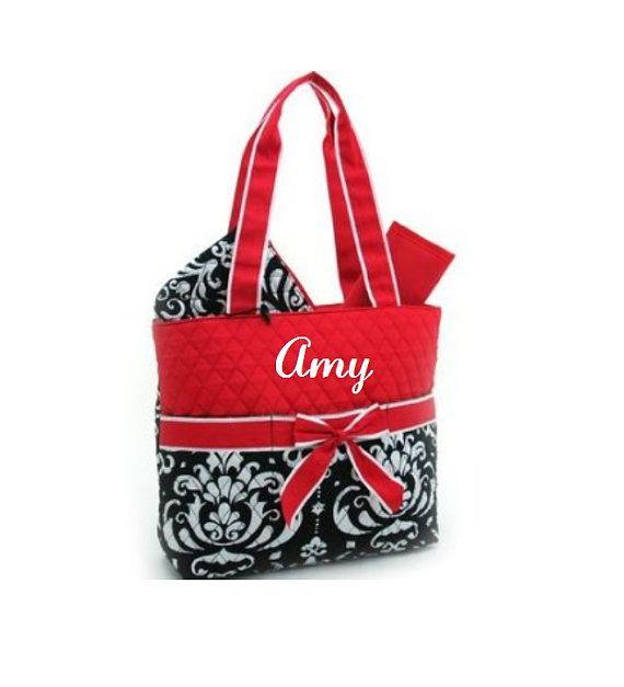 Bag Damask Diaper