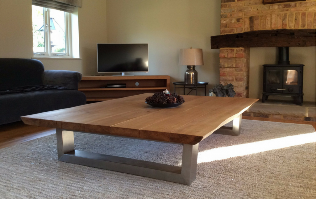 2153fe40f41b4 rustic live edge coffee table from tarzan tables - the komodo coffee table