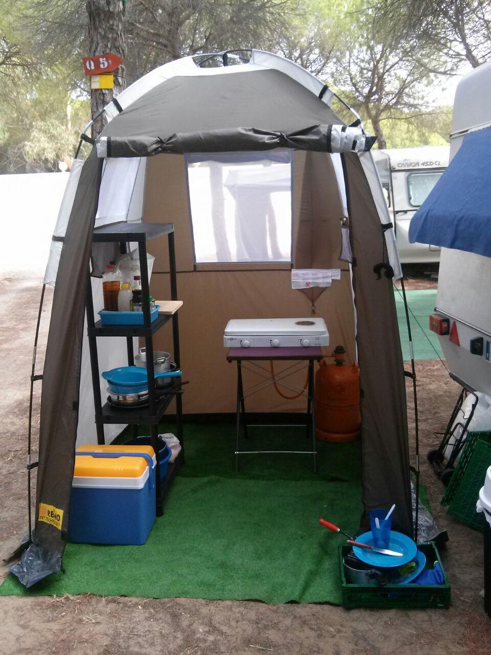 Tienda Cocina Camping Economica | Tienda De Cocina Vestidor Wc Ducha Economica Del Facil Montaje