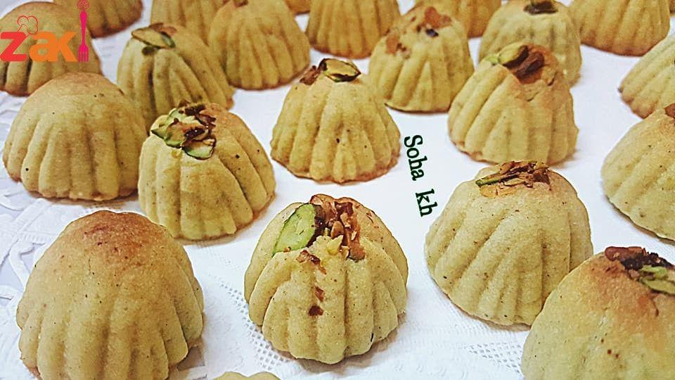 طريقة عمل المعمول السوري زاكي Arabic Sweets Recipes Food Receipes Lebanese Desserts
