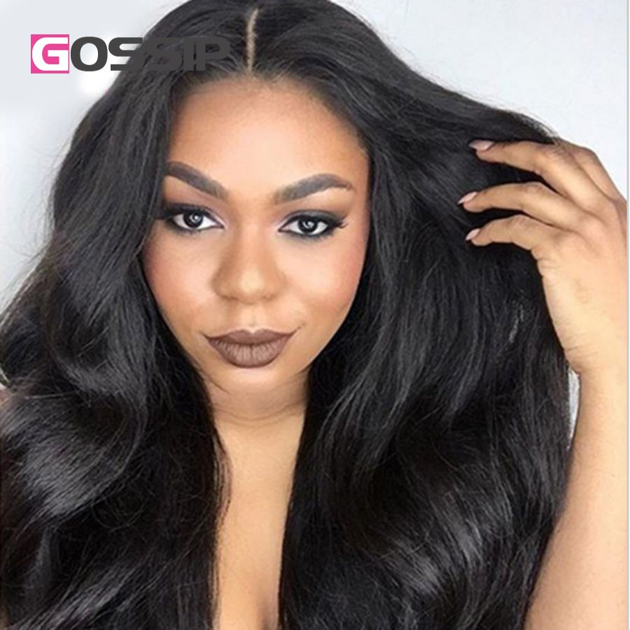 Glueless Full Lace Wigs With Baby Hair Human Front Black Women Brazilian U Part Virgin Bleached Knots