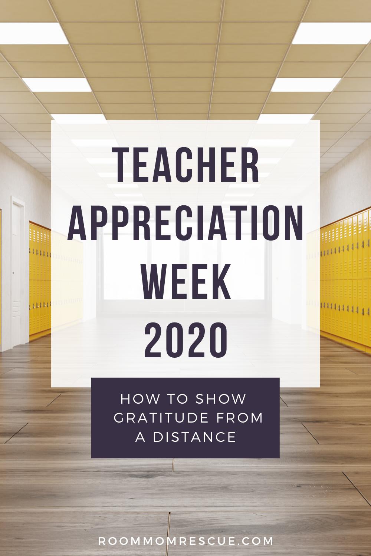 Teacher Appreciation Week 2020 How To Show Gratitude From A Distance In 2020 Teacher Appreciation Teacher Appreciation Gifts Teacher Appreciation Week