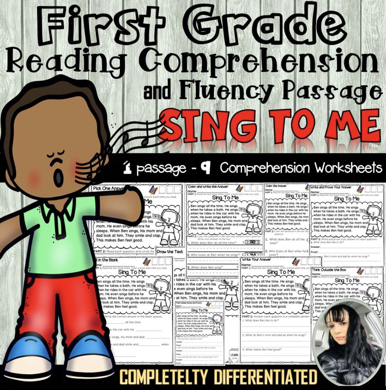 First Grade Reading Comprehension Worksheets