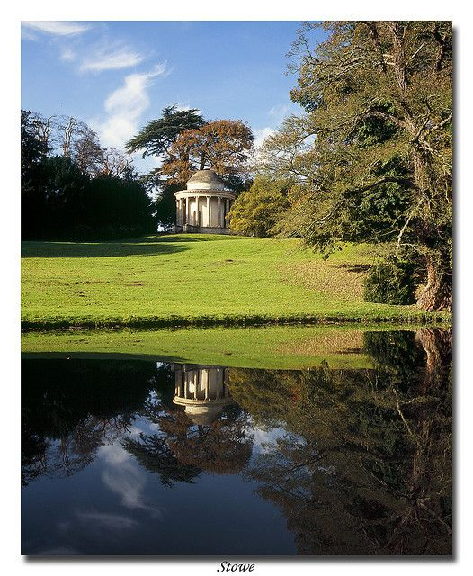 Stowe landscape gardens buckinghamshire designed by for Capability brown garden designs