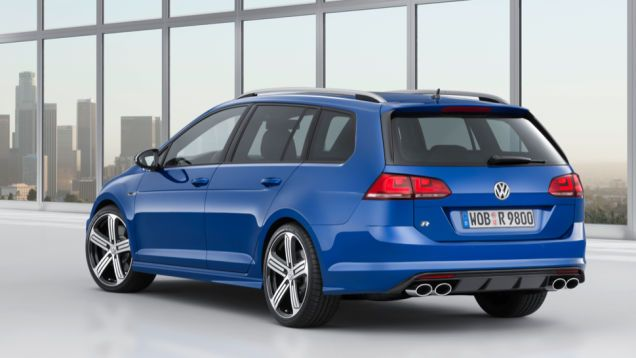 The Hot Volkswagen Golf R Wagon Is Real And It S Coming To The U S Vw Golf Vw Golf Variant New Sports Cars