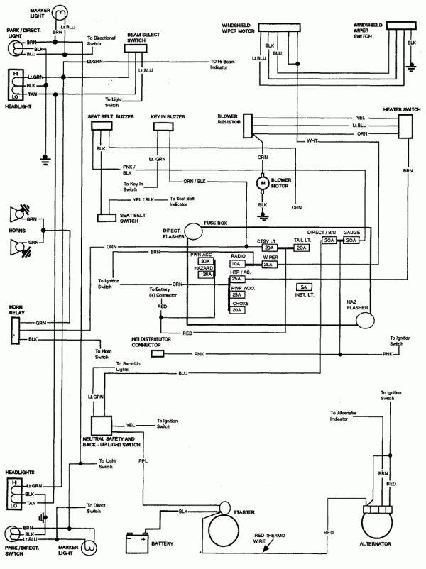 16  1978 Ford F150 Engine Wiring Diagram