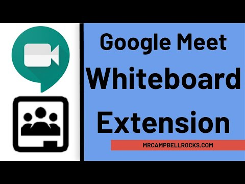 Google Meet Whiteboard Extension In Google Meet YouTube