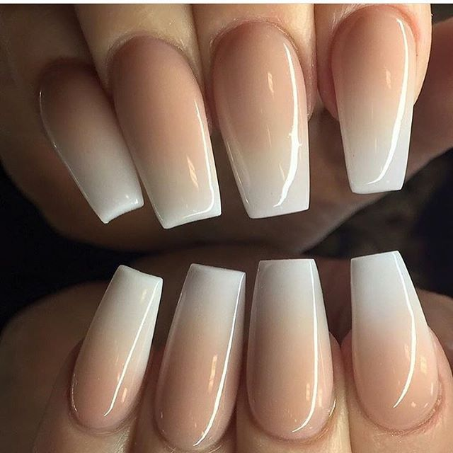 Beautiful Ombre Nails Tan Nails Ombre Nails Fashion Nails