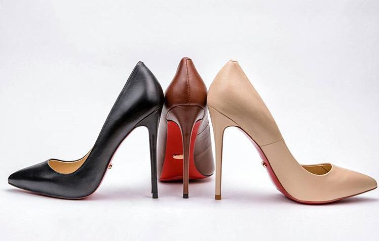 477988cf6952 These luxury 5 inch heels are created to be worn to the office ...