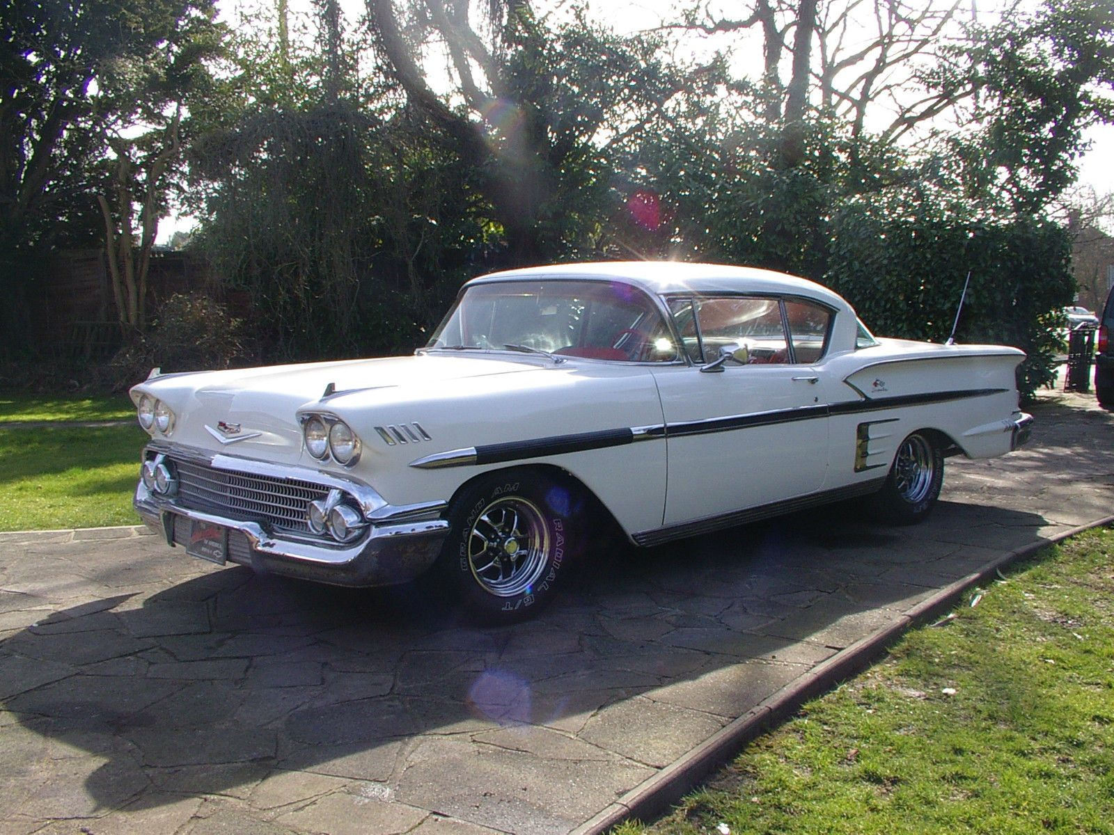 1958 chevrolet impala 2 door sports coup may part exchange why