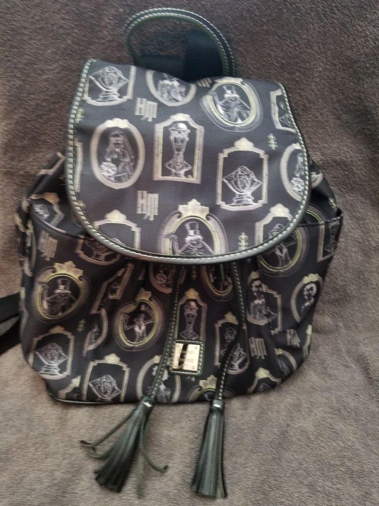bced4233ca2 Dooney   Bourke Disney Haunted Mansion Portrait Backpack hitchhiking ghosts  NWOT  Disneyana  Disney  WaltDisney