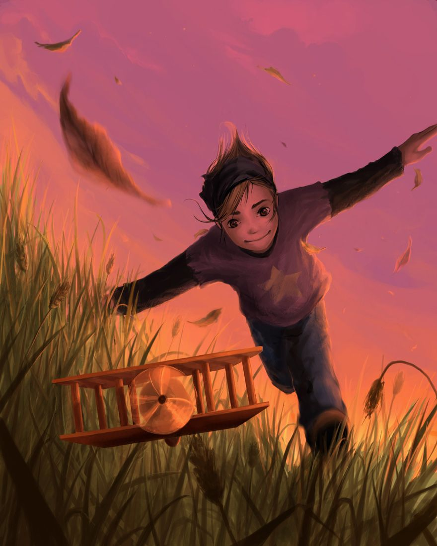 One day I'll fly away by AquaSixio.deviantart.com on @DeviantArt