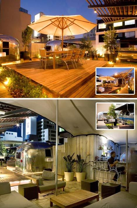 Rooftop Trailer Park: 7 'Mobile Home' Penthouses for Rent | Castles