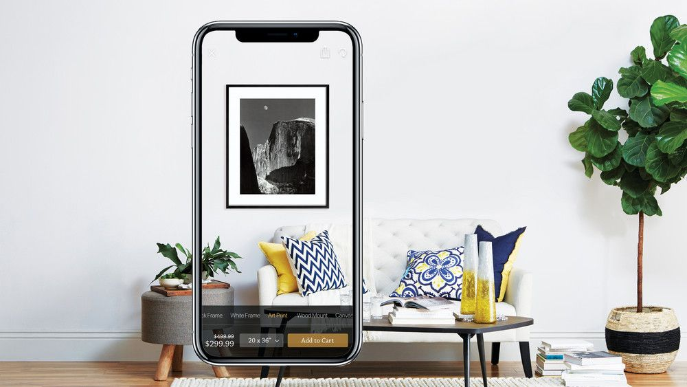 How To Use Art Com Ar App Preview Art On Wall Feature Cool