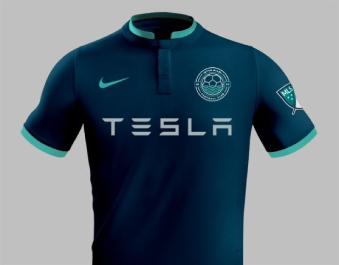 Unreal Cool Branding Proposal For Beckham S Miami Mls Team Mls Teams Soccer Shirts Sports Jersey Design