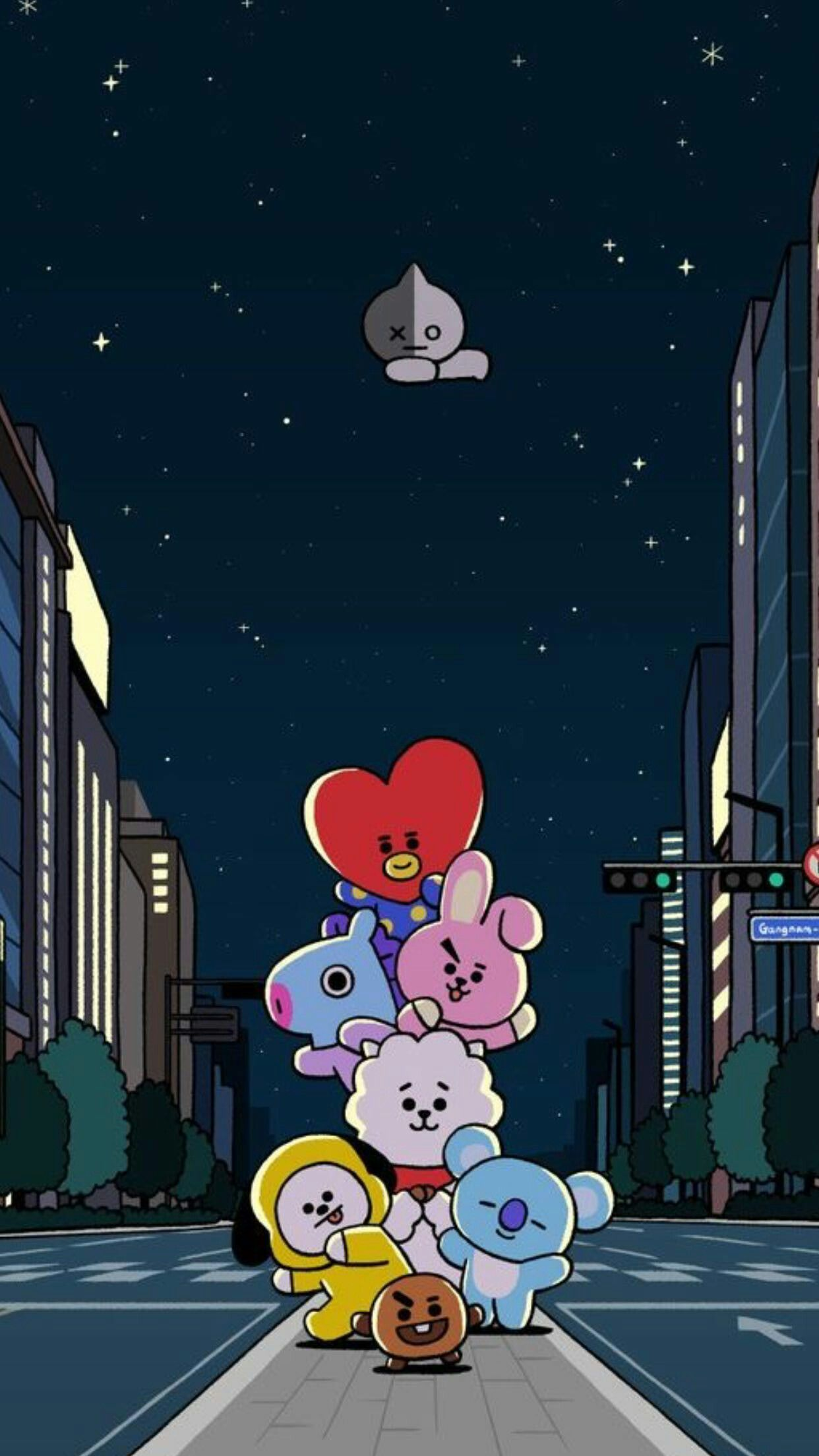 Pin By Bts Army On Wallpaper Bt21 Bts Wallpaper Anime Wallpaper Iphone Bts Drawings