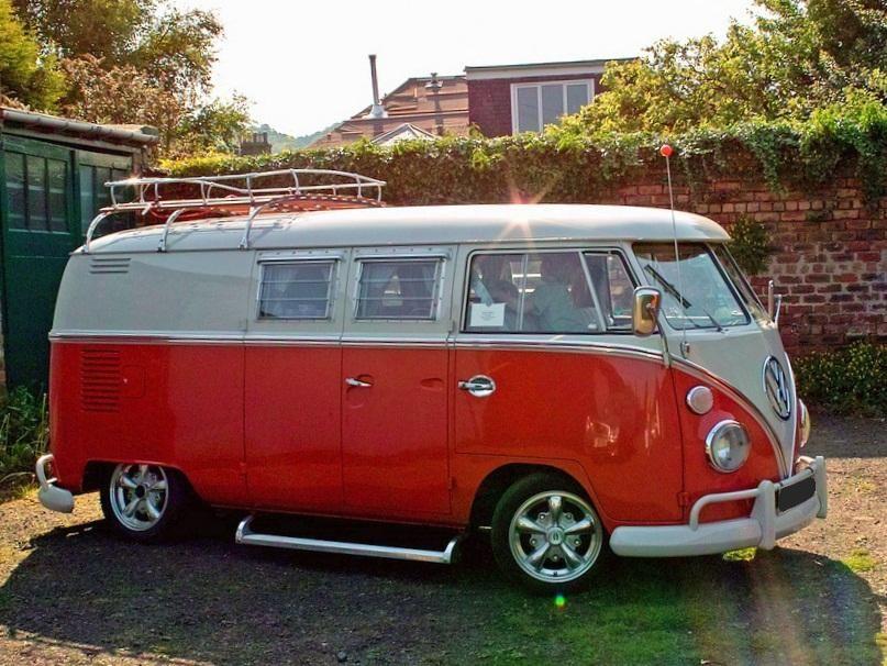 Vw T2 Westfalia Orange 925985 Vw T1 Volkswagen Bus Vw Bus