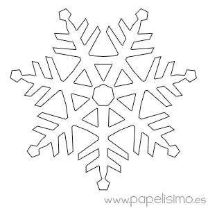 Manualidades f ciles para ni os en navidad copos de nieve - Manualidades ninos navidad ...