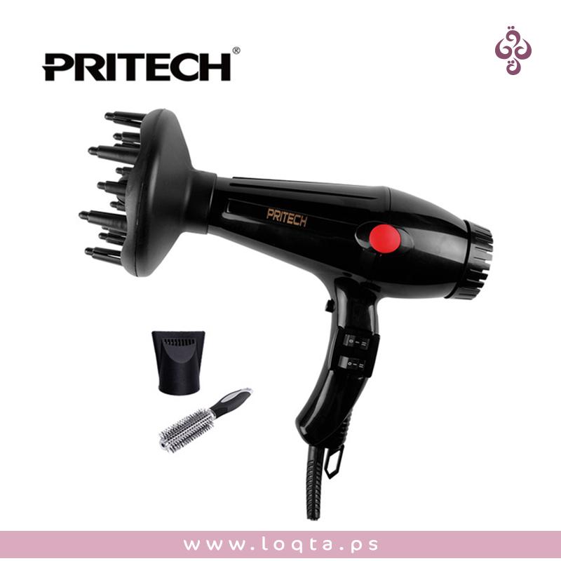 مجفف وسشوار شعر بدرجات مختلفة وثلاث رؤوس Pritech Professional Hair Dryer Professional Hairstyles Hair Dryer