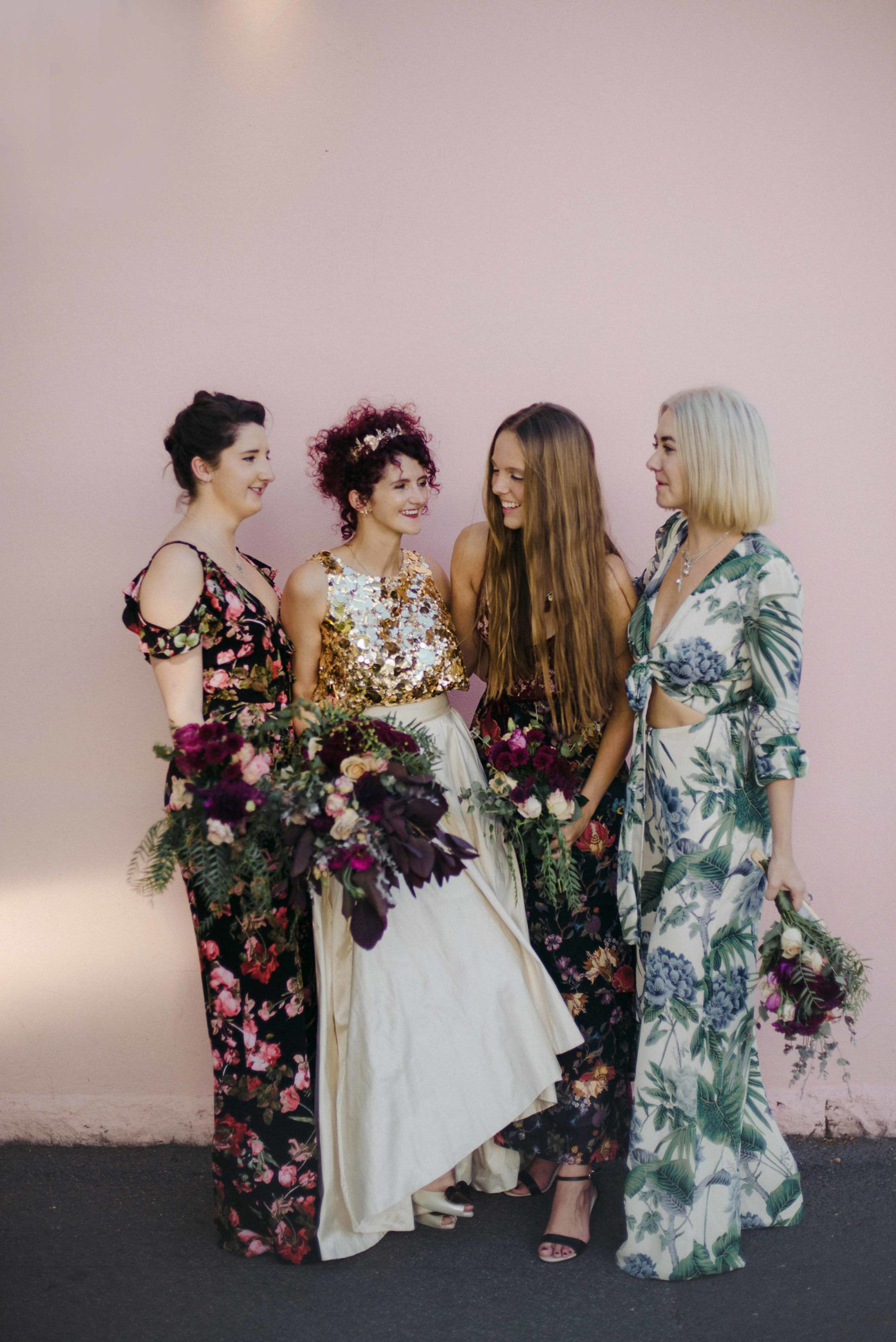 Kashka Kennie S Jungle Disco Wedding At Glasshaus The Perfect