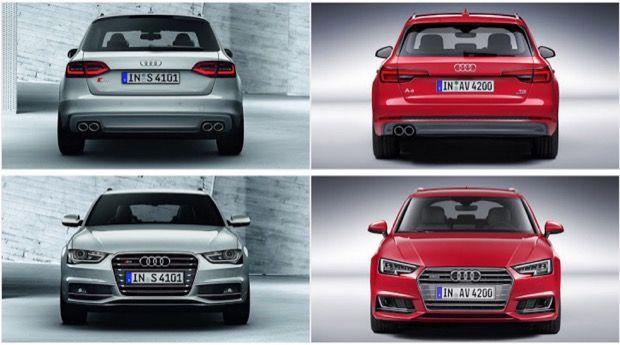 Comparison Audi A4 B8 Vs Audi A4 B9 Audi New Cars Sales