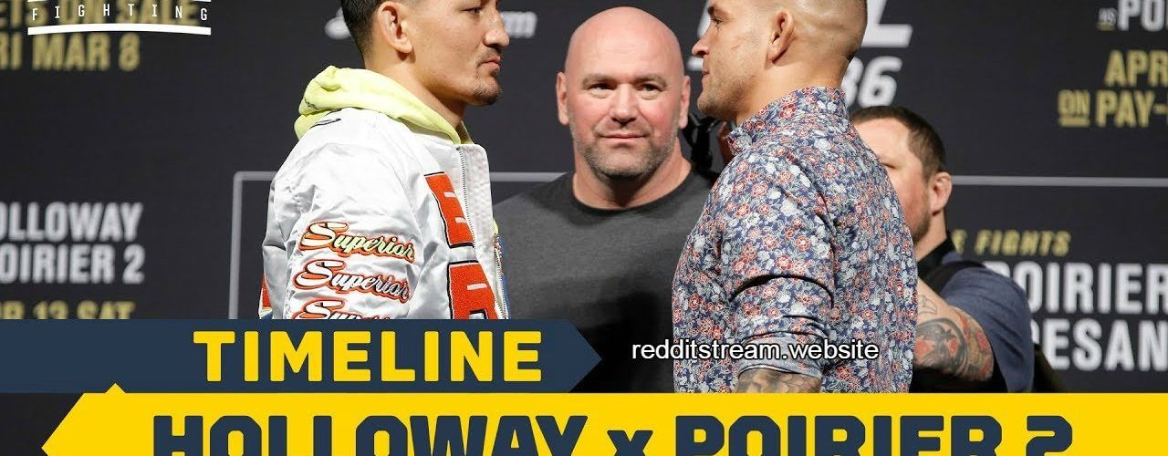 UFC 236 Holloway vs. Poirier 2 This Weekend Only On Our