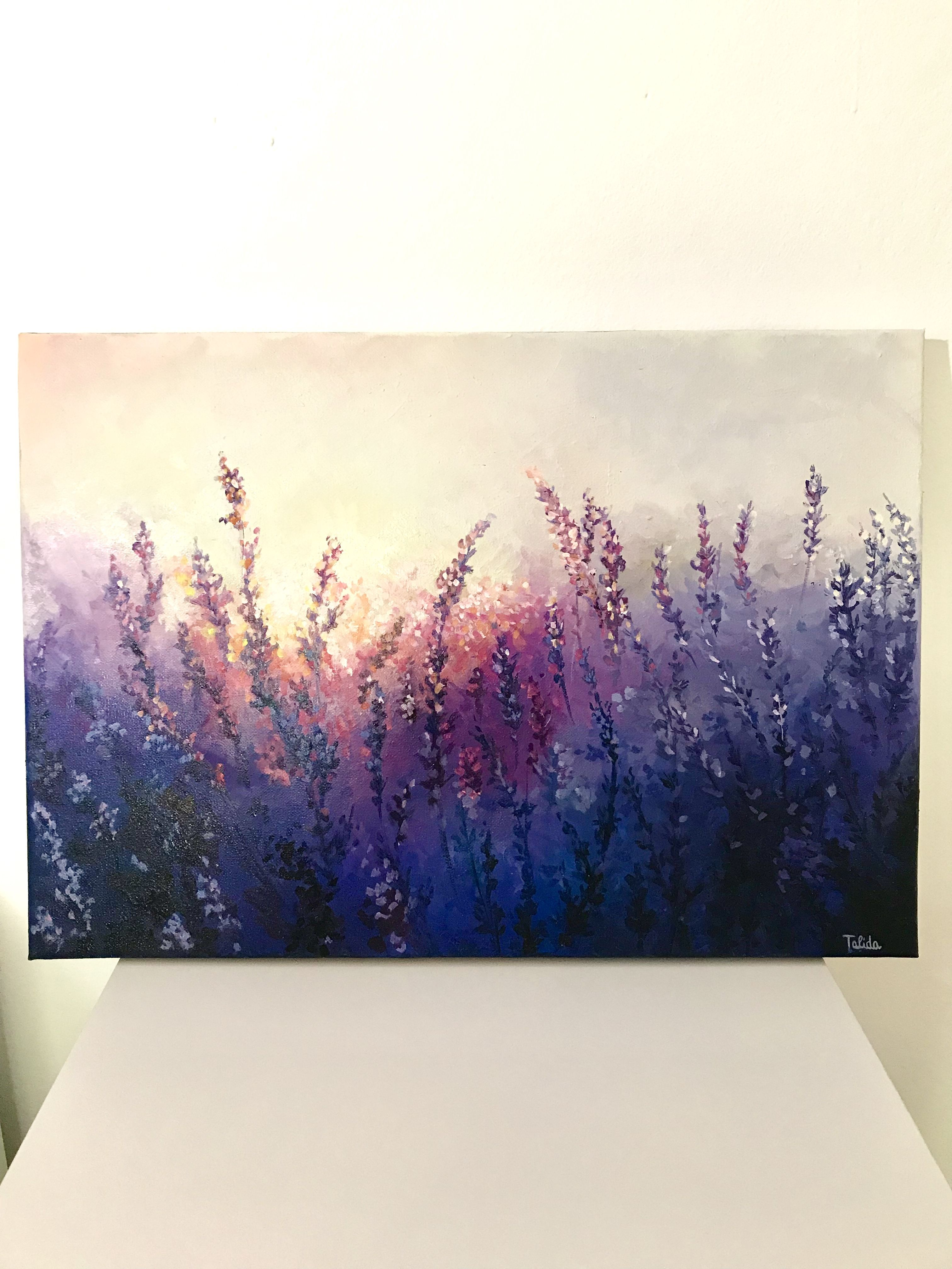 Oil painting on canvas (With images) Flower painting