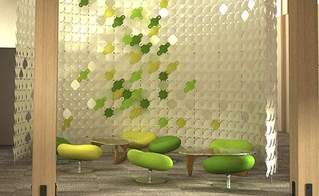 3-Form screen | Donor Walls | Pinterest | Environmental graphics ...