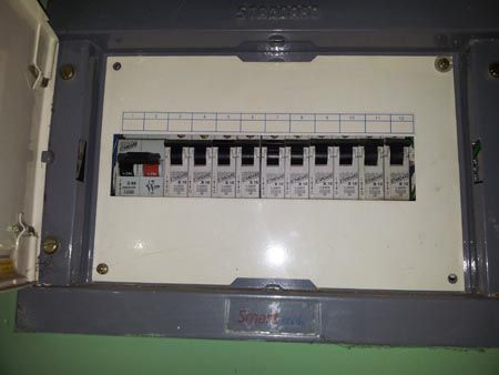 Main Electrical Panel, Subpanels and Circuit Breakers in Home Wiring on grounding a circuit panel, three-phase electric power, ring circuit, 150 amp meter main panel, electrical room, main deck, consumer unit, electricity distribution, earthing system, main switchboard diagram, electrical equipment, wiring diagram, breaker panel, electrical conduit, main climate zones, national electrical code, junction box, circuit breaker, electricity meter, 200 amp panel, 400 amp meter main panel, residual-current device, 3 phase main lug panel, 3 phase service entrance panel, ground and neutral, main distribution panel, power cable, main lug only, earth leakage circuit breaker, main lug panel box wiring, 100 amp panel, electrical wiring, main breakers, cable distribution panel, main service panel, wiring a main panel, zinsco panel, main cloud types,
