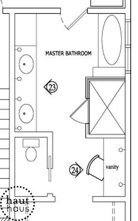 Walk In Closet A Design Blog Bathroom Layout Plans Master Bathroom Plans Bathroom Floor Plans