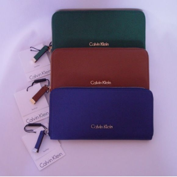 Calvin Klein Wallet Merlot Burgundy Calvin Klein Wallet Gorgeous Leather Calvin Klein Bag