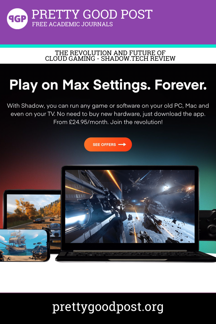 Play on Max Settings. Forever. With Shadow, you can run