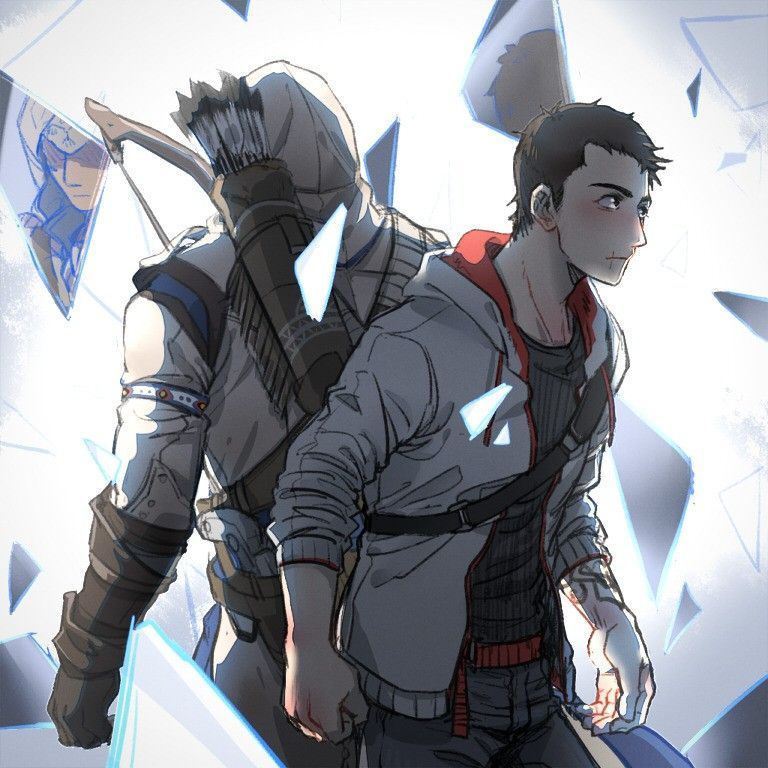 Assassin S Creed Ac Connor Kenway And Desmond Miles