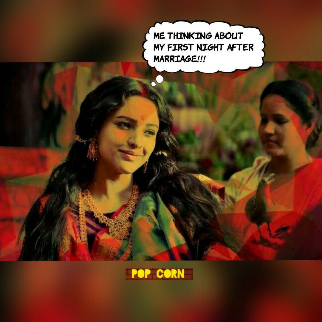 Tripti Dimri In Bulbbul Movie Memes First Night After Marriage After Marriage