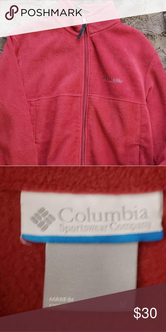 daa88bf59d5 Columbia mens fleece jacket sz med Like new smoke free home no rips tears  or stains Columbia Jackets   Coats