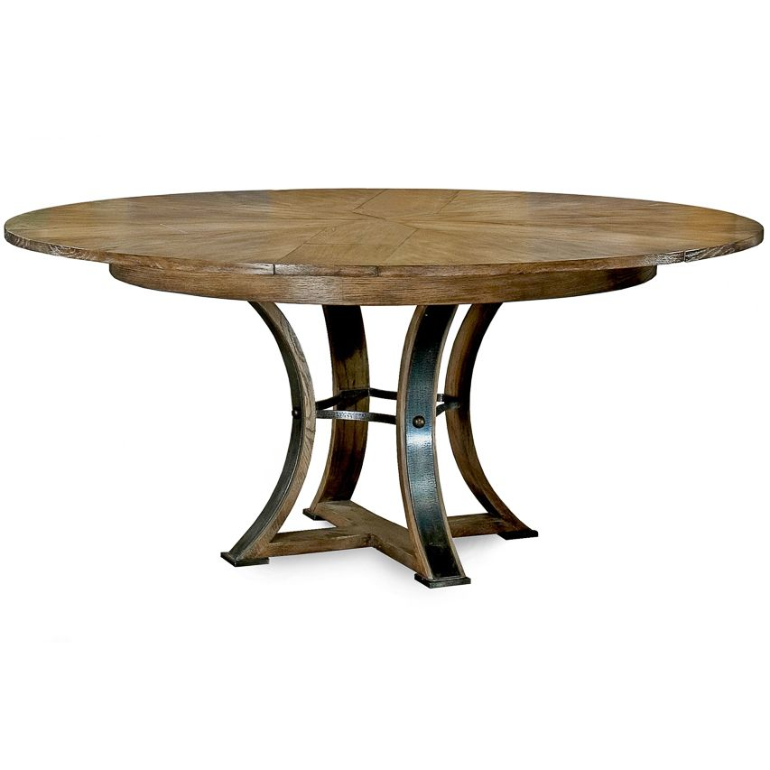 Rustic Round Jupe Dining Table Solid Oak Dining Table Round Wood Dining Table Dining Table