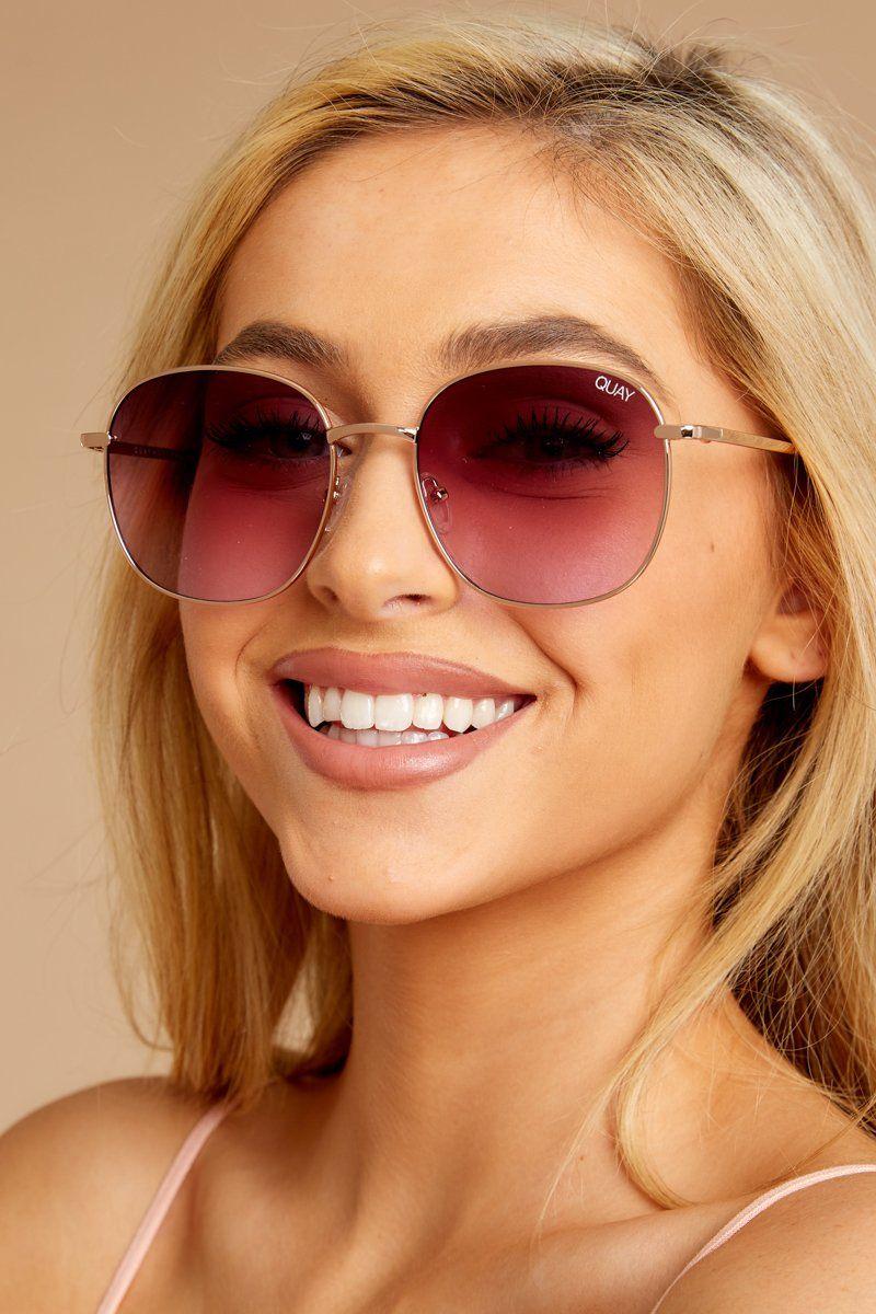 c87d7df77 Quay Australia Jezabell Sunglasses - Cute Pink Sunnies - Glasses - $60 –  Red Dress Boutique