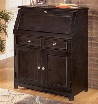 Secretary Desks With File Cabinets Ashley Carlyle Drop Front