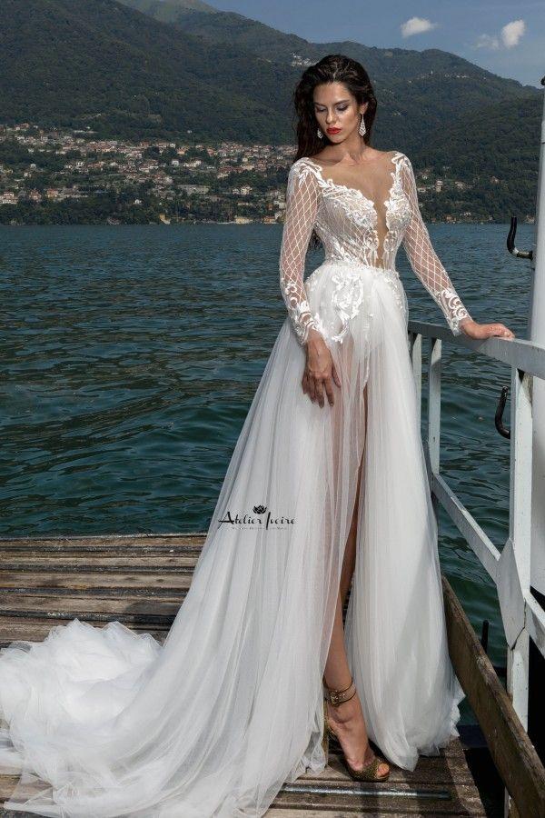 Gorgeous Wedding Dress Blake! Shop here -> http://atelierivoire.bg ...