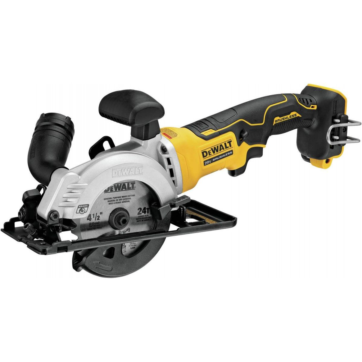 Dewalt Dcs571b Atomic 20v Max 4 1 2 Best Cordless Circular Saw Cordless Circular Saw Dewalt