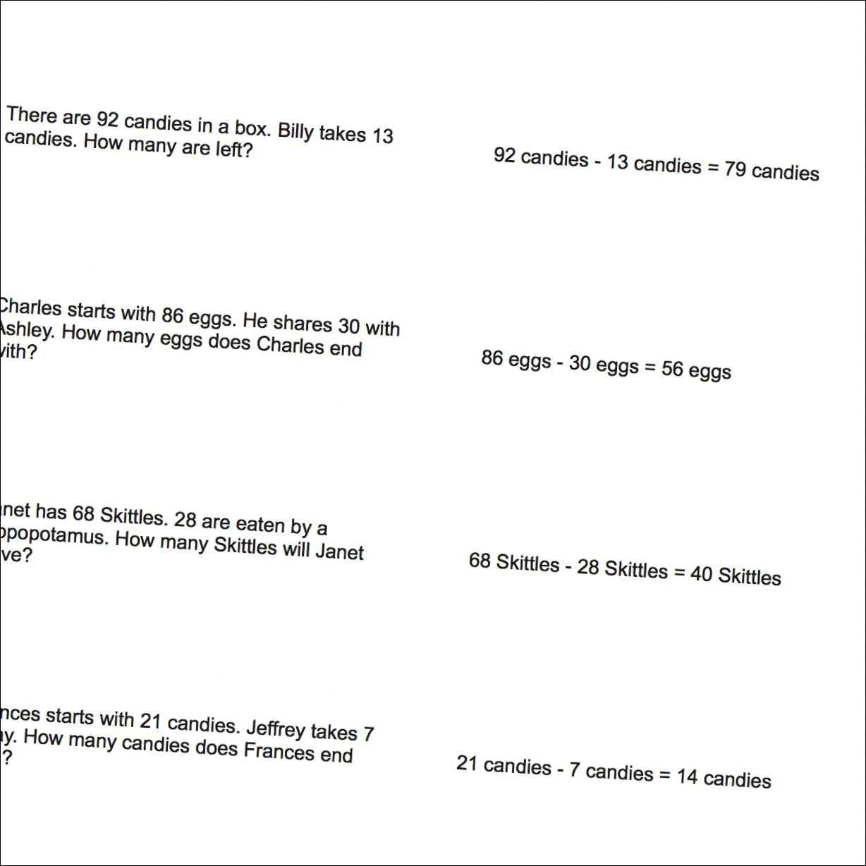 Worksheet Mixed Addition And Subtraction Word Problems word problems mixed addition and subtraction mel problems