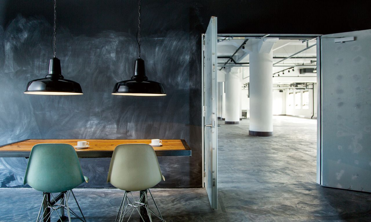 flymee factory art work studio classic enamel pendant interior