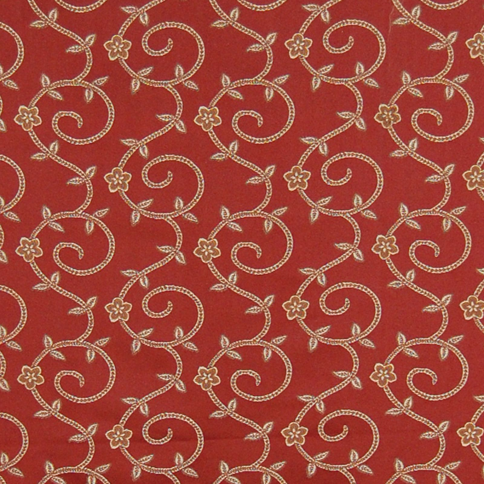 A8137 Burgundy Fabric Sophisticated Art