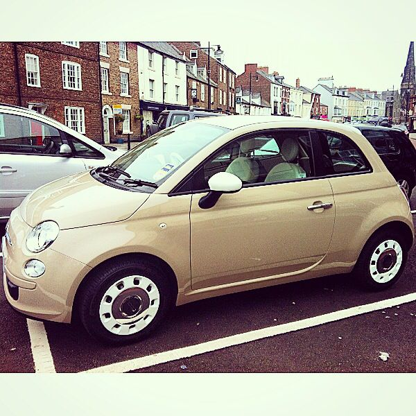 Fiat 500 Love New Age Cream Italian Latte Vroom Vroom X With